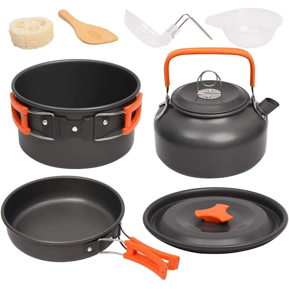goedkoop kookgerei aliexpress potten pannen ketel zwart goedkope voor kamperen