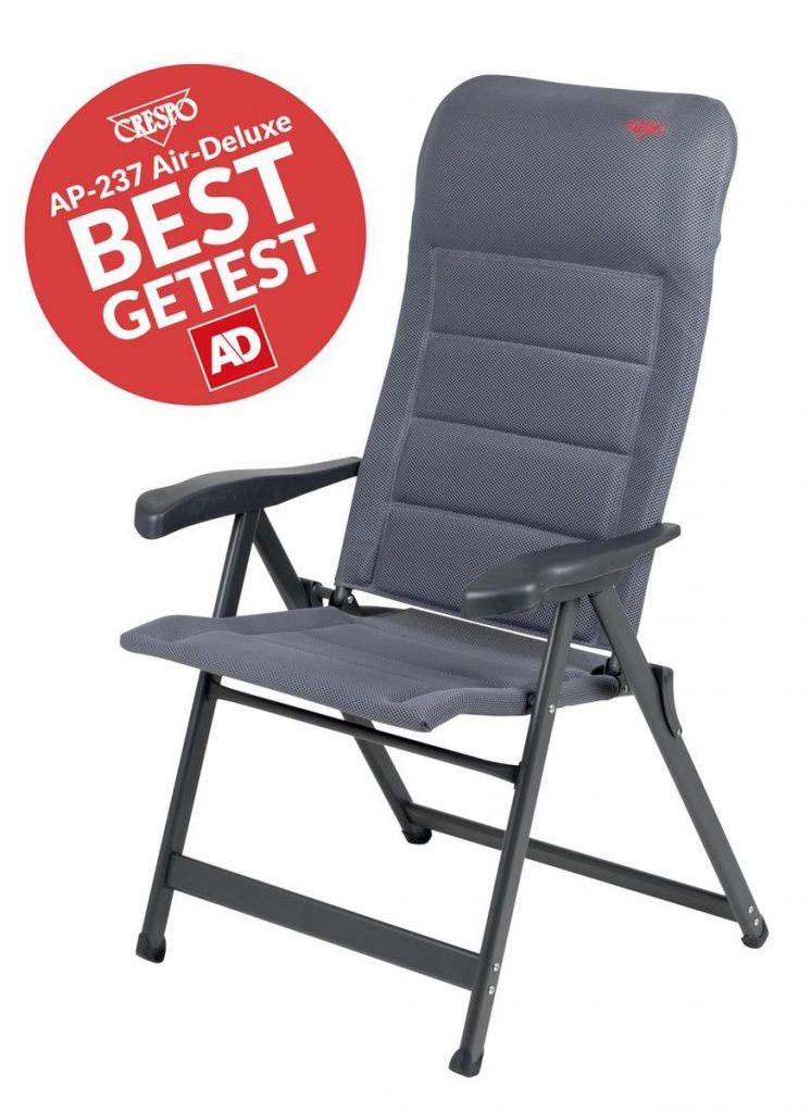 Crespo Standenstoel AP-237 Air-Deluxe review - Comfortabele campingstoel beste campingstoel
