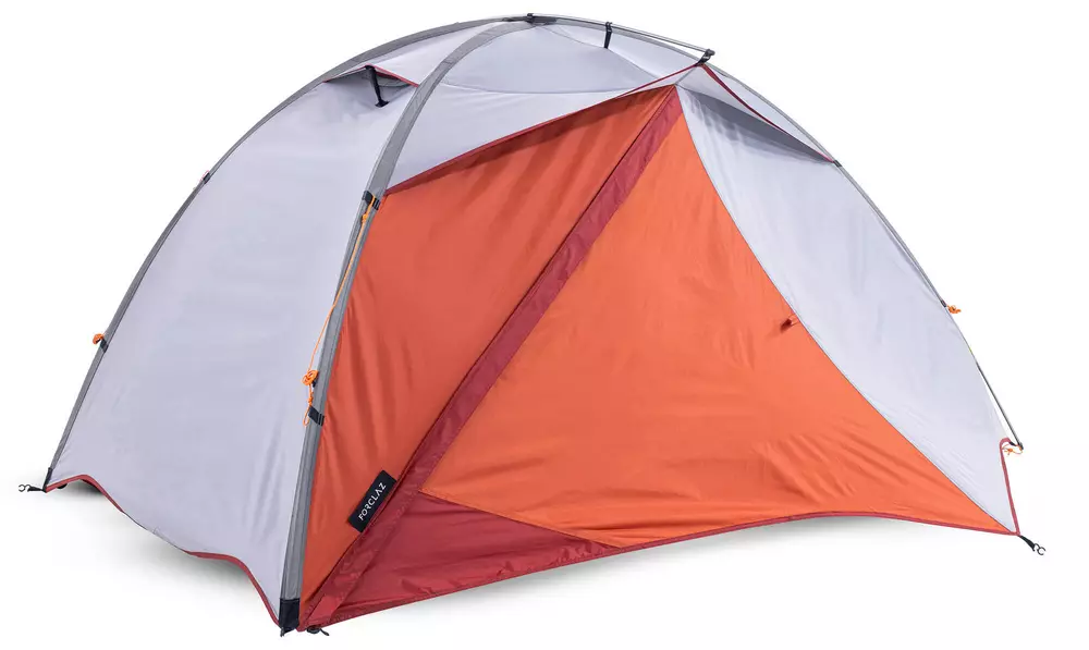 Forclaz 2 persoons tent. Ultralichte Tent. Tweepersoons Tent. Beste tweepersoons tent lichtgewicht tent