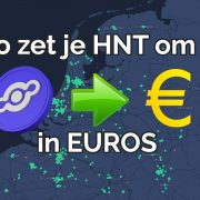 Zo zet je Helium (HNT) om in euro's [handleiding]