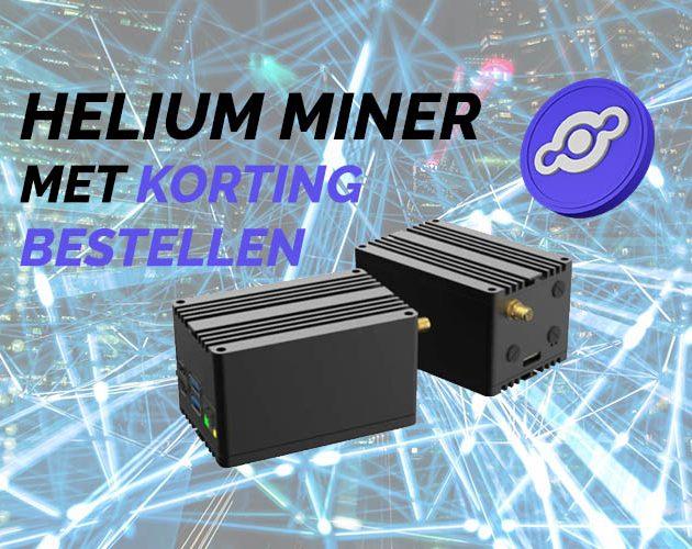 Helium miner kopen in Nederland? BESTEL HIER MET KORTING