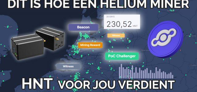 Dit is hoe een Helium Hotspot Miner HNT oplevert [Complete handleiding]