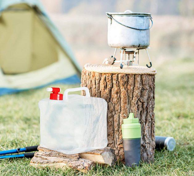 Ervaren kampeerder: Opvouwbare jerrycan kopen? Dit zijn de beste opvouwbare jerrycans [Top 3]