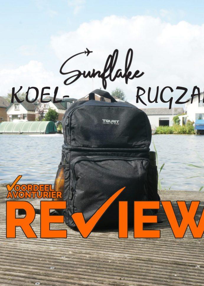 Review: Tourit Koelrugzak van Sunflake – Koeltas & dagrugzak in één!
